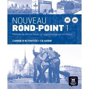 Nouveau Rond Point 1 A1-A2 ćwiczenia +CD