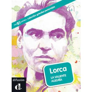 LH Lorca. La Valiente Alegria książka + CD B1