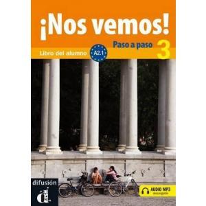 Nos Vemos! Paso A Paso 3 podręcznik +CD