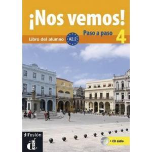 Nos Vemos! Paso A Paso 4 podręcznik +CD