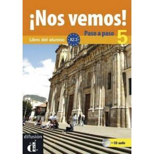 Nos Vemos! Paso A Paso 5 podręcznik +CD