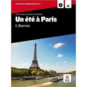 LF Un ete a Paris książka + CD MP3 A2
