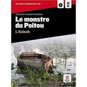 LF Le monstre du Poitou książka + CD MP3 A2