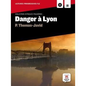 LF Danger a Lyon książka + CD MP3 B1