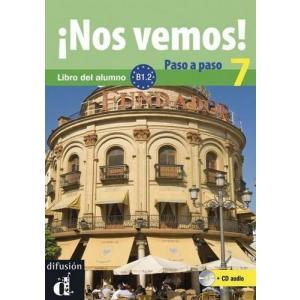 Nos Vemos! Paso A Paso 7 podręcznik +CD