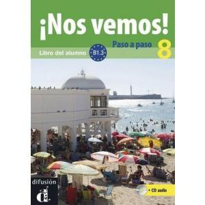 Nos Vemos! Paso A Paso 8 podręcznik +CD