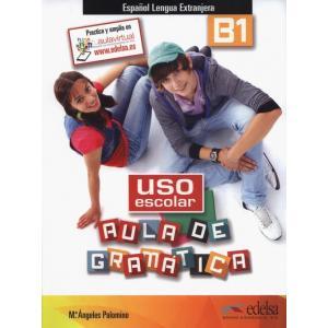 Uso escolar B1 aula de gramatica książka