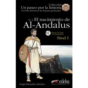 Un paseo por la historia. El nacimiento de Al-Andalus książka + audio online Nivel 1