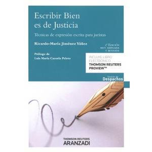 Escribir Bien es de Justicia
