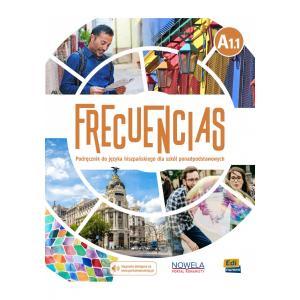 Frecuencias A1.1. Podręcznik + Nagrania Online