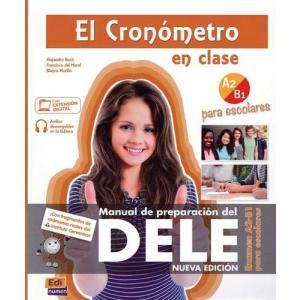 Cronometro Escolar A2/B1 ksiazka + audio online