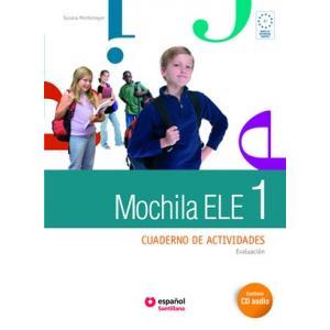 Mochila ELE 1. Ćwiczenia + CD + Portfolio. Gimnazjum
