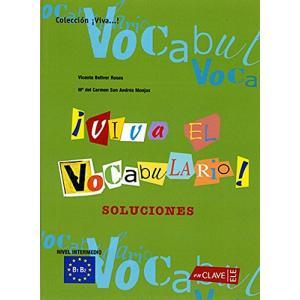 Viva el Vocabulario! Nivel Intermedio B1-B2. Klucz