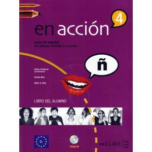 En Accion 4. Podręcznik + CD