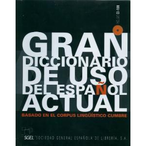 Gran Diccionario de uso del Espanol actual +CD-Rom