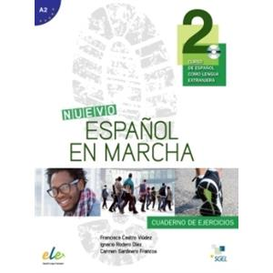 Nuevo Espanol en Marcha 2. Ćwiczenia + CD