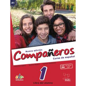 Companeros Nueva Edicion 1. Podręcznik + Licencia Digital
