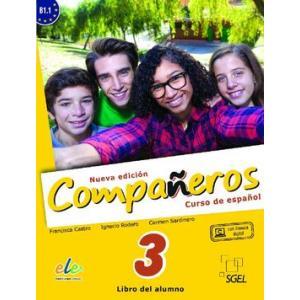 Companeros Nueva Edicion 3. Podręcznik + Licencia Digital