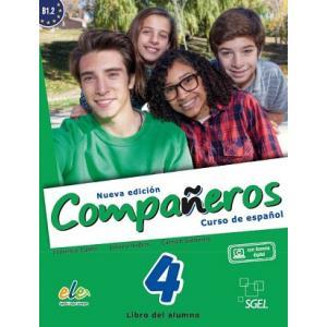 Companeros Nueva Edicion 4. Podręcznik + Licencia Digital