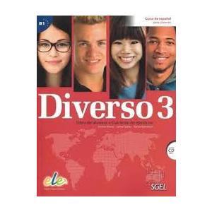 Diverso 3. Podręcznik + Ćwiczenia + CD