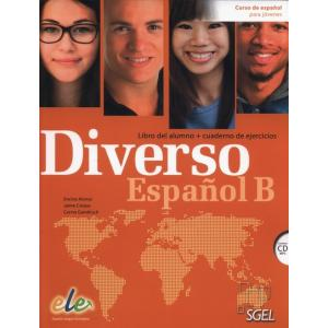Diverso Espanol B. Podręcznik + Ćwiczenia + CD