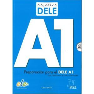 Objetivo DELE nivel A1 książka + CD