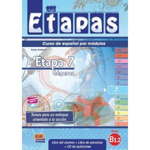 Etapas 7. Podręcznik z Ćwiczeniami + CD