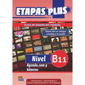 Etapas Plus B1.1. Podręcznik z Ćwiczeniami + CD