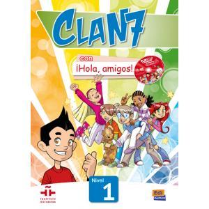 Clan 7 Con Hola, Amigos! 1. Podręcznik