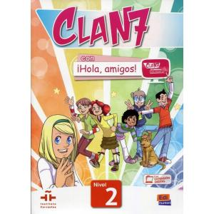 Clan 7 Con Hola, Amigos! 2. Podręcznik + zawartość online