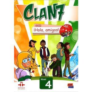 Clan 7 Con Hola, Amigos! 4. Podręcznik + CD