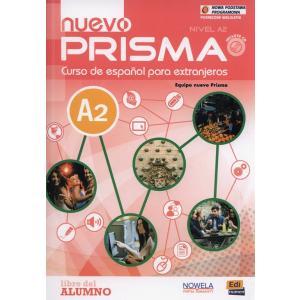 Prisma Nuevo A2 podręcznik + Audio CD (podręcznik wieloletni)