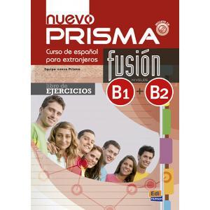 Prisma Nuevo Fusion B1+B2. Ćwiczenia + CD