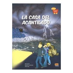La Casa Del Acantilado (Komiks). Poziom A1-A2