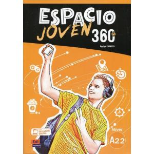 Espacio Joven 360 A2.2. Podręcznik + Kod Dostępu ELEteca