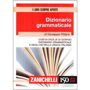 Dizionario grammaticale cosi si dice e si scrive