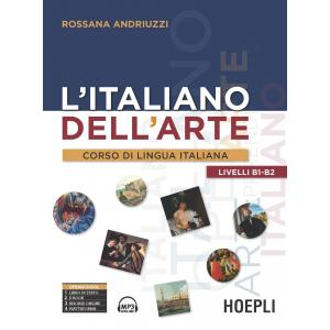L'taliano dell'arte Corso di lingua italiana B1/B2 książka + audio online