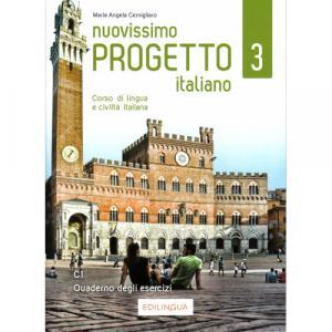 Nuovissimo Progetto italiano 3 C1 ćwiczenia + CD