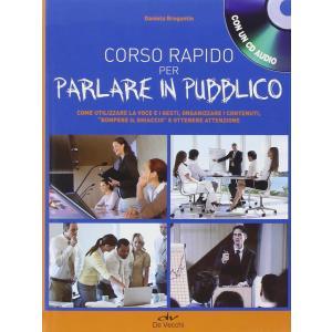 Corso rapido per parlare in pubblico książka + CD