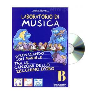 Laboratorio di Musica B książka + CD
