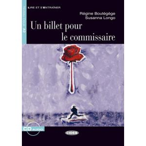 LF Un billet pour le commissaire książka + CD A2