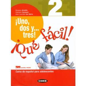 Uno, Dos, Tres Que Facil 2 Podręcznik + CD