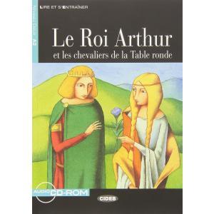 LF Le Roi Arthur et les chevaliers de la Table ronde książka + CD A2
