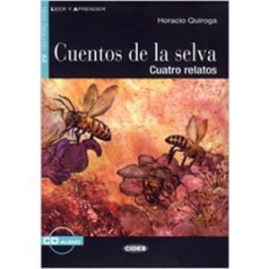 LH La Cuentos de la Selva książka + CD A2
