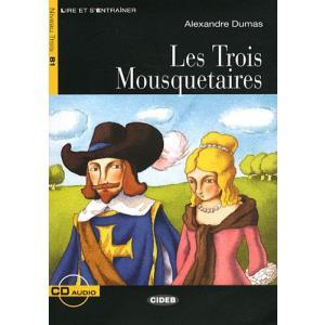 LF Les Trois Mousquetaires książka + CD B1