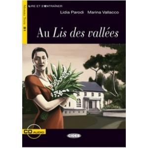 LF Au Lis des vallees książka + CD B1