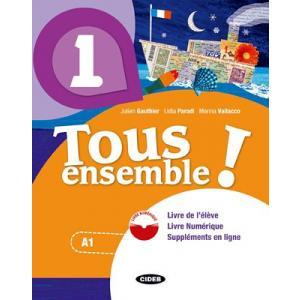 Tous ensemble 2 podręcznik + ćwiczenia + CD A1-A2
