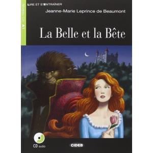 LF La Belle et la Bete książka + CD A1