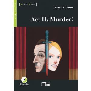 LA Act II: Murder! książka + CD audio B1.1