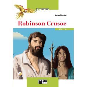 Robinson Crusoe + CD. Green Apple. Step 1 A2
